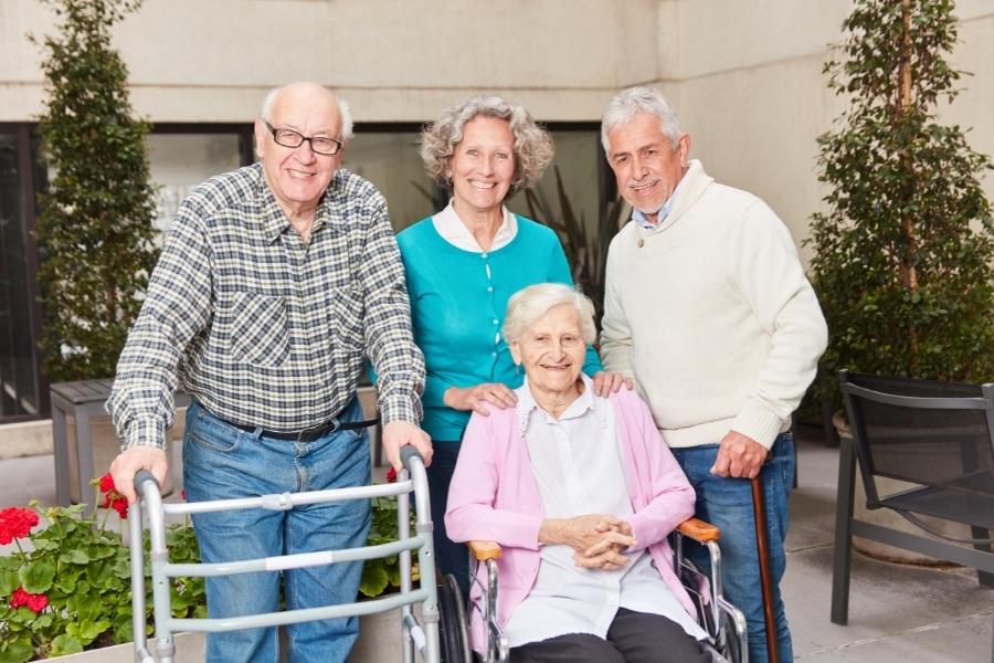 senior assisted living home
